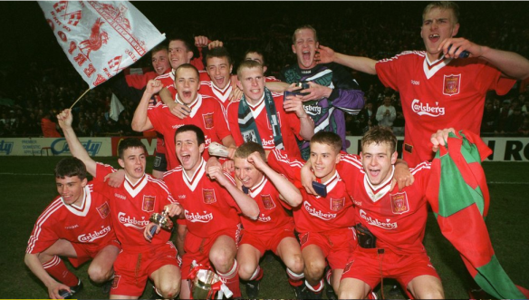 Owen was largely accepted as the star of the 1995/96 FA Youth Cup